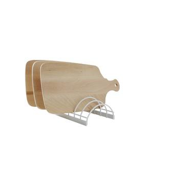 COMPACTOR - Support pour planches à découper blanc 24x14x6,7cm