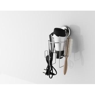 Support pour sèche cheveux ventouse