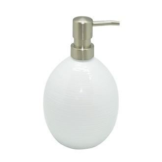 Distributeur en porcelaine blanche Oxford