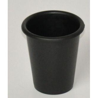 Gobelet en plastique noir Ebonite