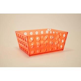 Vide poche en acrylique transparent orange Acidulé PM