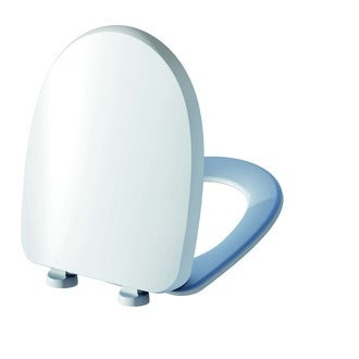 Abattant de toilette silencieux blanc