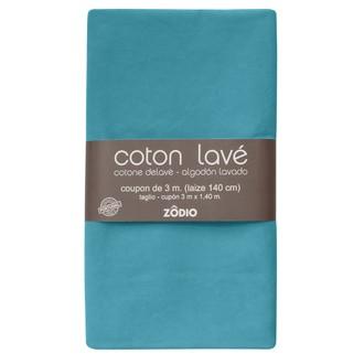 Coton lavé topaze coupon 300x140cm