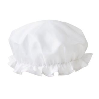 ZODIO - Bonnet de douche blanc avec sac coordonné