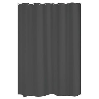 ZODIO - Rideau de douche zinc - 180x200cm
