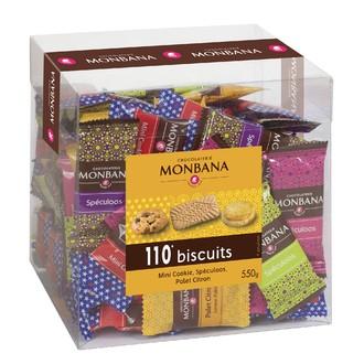 MONBANA - Grande boîte de 110 biscuits