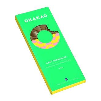 MONBANA - Tablette de chocolat au lait Gianduja 100g