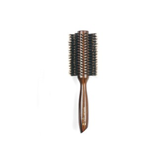 Brosse de brushing en bois classique diamètre 6,5cm