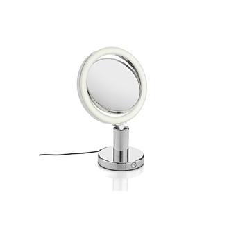 Miroir grossissant lumineux rond à poser double face X7 diamètre 19cm