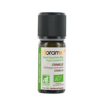 Florame - huile essentielle biologique citronelle 10ml