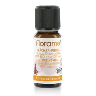 FLORAME - Composition d'huiles essentielles biologiques lâcher prise