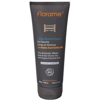 FLORAME - Gel douche corps & cheveux L'Eau Aromatique 200ml