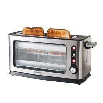 Grille pain en inox avec vitres