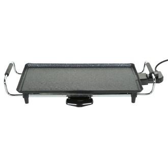 Plancha grill électrique avec revêtement façon pierre 45cm