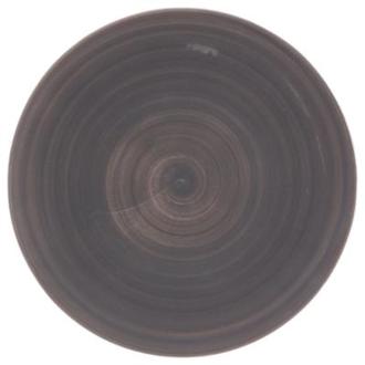 Assiette plate gris 27,5cm