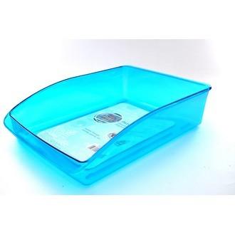 Bac de rangement frigo en plastique transparent 33x22cm