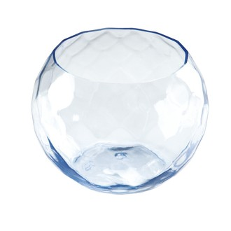 10 verrines diamant en plastique bleu 75ml