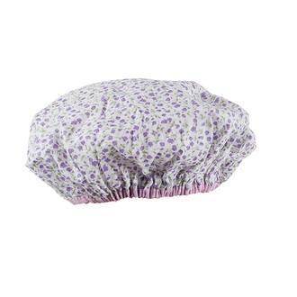 Bonnet de douche imprimé fleurs