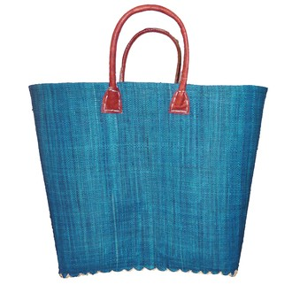 Panier de rangement bleu turquoise Belo