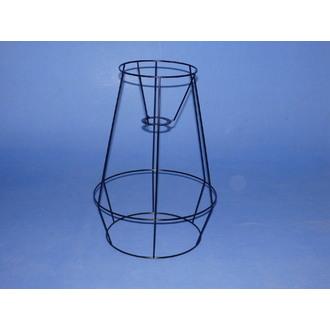 Carcasse cage noir 35x25cm