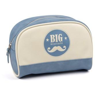 BIG MOUSTACHE - Trousse de toilette homme bleu