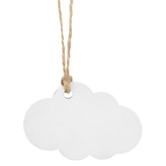 Marques-place nuage blanc en sachet de 6