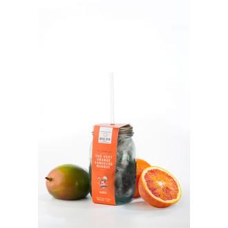 QUAI SUD - Thé glacé orange sanguine 12sachets avec mason jar