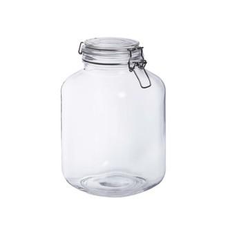 Terrarium bocal en verre carrée à couvercle 15x15xh23,5cm