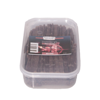 TRESORS DE CHEF - Batons Chocolat - boîte de 160 pièces