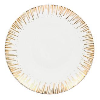 Assiette plate festif gold 27 cm