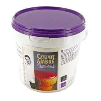 FELDER - Seau de glaçage caramel ambré  - 1 kg