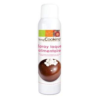 SCRAPCOOKING - Vernis alimentaire en spray 150ml