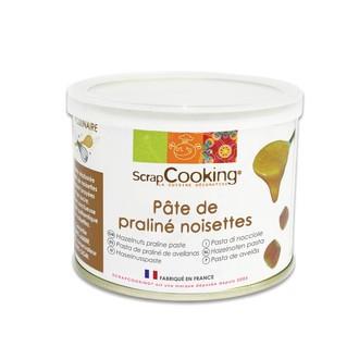 SCRAPCOOKING - Praliné de noisettes en pâte en pot 200g