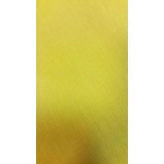 Nappe antitache coton moutarde 150x200 cm