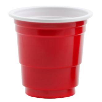 20 petits pot à sauce rouge