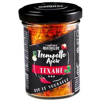 LE COMPTOIR DE MATHILDE - Trempette Apéro Texane 45g