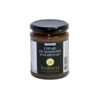 TRESORS DE CHEFS - Crème de marrons d'Aubenas en pot 350g