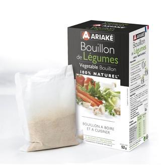 ARIAKE -  Bouillon de Légumes 5 sachets 33cl