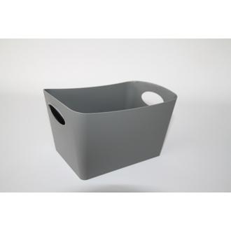 KOZIOL - Vide poche gris foncé Boxxx S 10,8x18,7x12,8cm