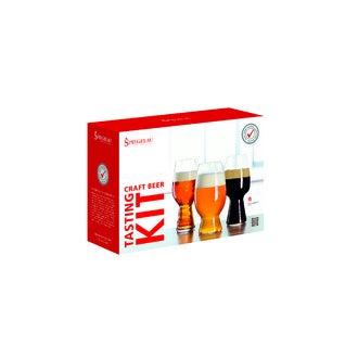 Kit de dégustation 3 verres bières 54, 60 et 75cl