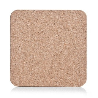 Dessous de plat carré en liège 20x20cm