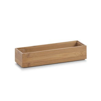 Organiseur de tiroir en bois de bambou 23x7,5x5cm