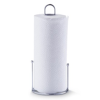 Porte essuie-tout en inox 30cm