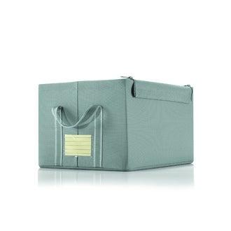 REISENTHEL - Boite moyen modèle avec une anse et une étiquette couleur grise 40x31x23cm