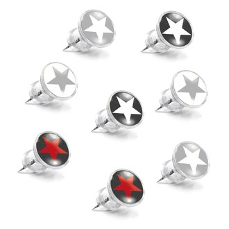 Set de 8 punaises décoratives étoiles