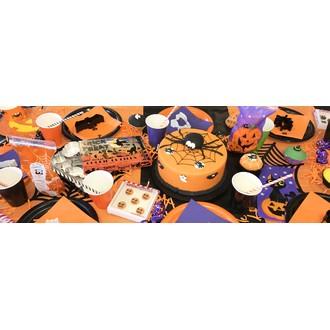 Boîte de 6 décors en sucre assortis Halloween