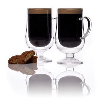 Set de 2 verres irish coffee double parois 275ml