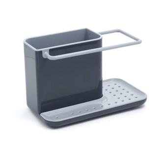 Support de rangement d'évier en plastique gris