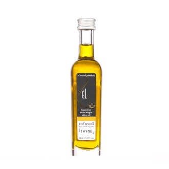 Huile d'olive infusée thym bio 50ml