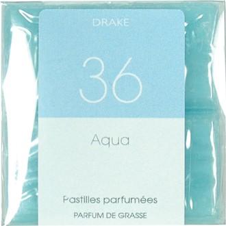4 carrés fondants aqua